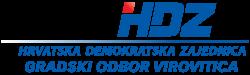 Hrvatska demokratska zajednica Logo